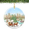 Chuck Fischer's Central Park Christmas Ornament