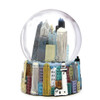 Chicago Snow Globe 3.5 Inches with Chicago Landmarks