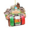 3D Rome Christmas Ornament