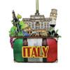 3D Italy Christmas Ornament