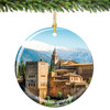 Spain Christmas Ornament of Alhambra Granada