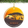 African Christmas Ornament