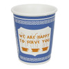 We Are Happy To Serve You Ceramic Cup