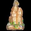 Sand Castle Glass Ornament
