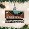 Yosemite National Park Glass Ornament
