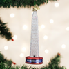 Washington Monument Glass Ornament