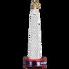 Washington Monument Glass Ornament