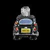 British Taxi Glass Ornament