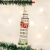 Leaning Tower Of Pisa Glass Ornament