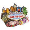 3D Las Vegas Magnet