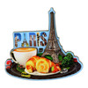 3D Paris Street Magnet