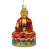 Glass Red Buddha Ornament