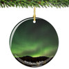 Northern Lights Christmas Ornament