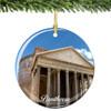 Roman Pantheon Christmas Ornament