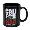 Black California Republic Mug