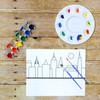 DIY Kid's Painting Set with New York City Skyline