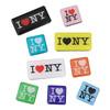 I Love NY Magnet Set