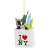 I Love NY Christmas Ornament