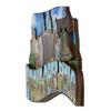 3D Wooden Philadelphia Magnet