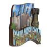 3D Wooden Philadelphia Magnet Skyline 4 Inches