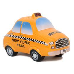 Ceramic Bank NYC Taxi