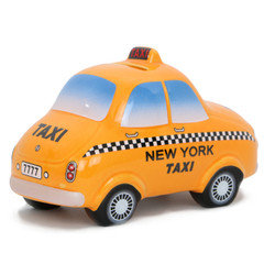 Ceramic Bank NYC Taxi