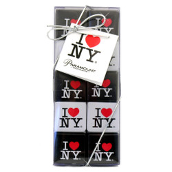 I Love NY Chocolate Square Gift Set