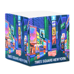 New York City Times Square Paper Cube