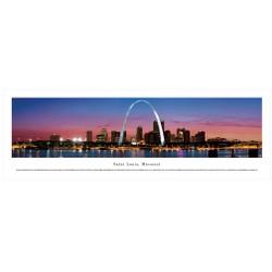 Panoramic St. Louis Skyline Poster