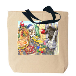 NYC Thanksgiving Day Parade Tote Bag