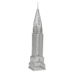 Chrysler Building Replica Statue Steel Wire Model