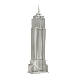 Empire State Building Replica Steel Wire Model Statue
