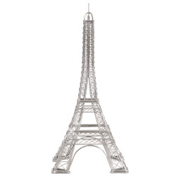 Eiffel Tower Replica Wire Model Statue
