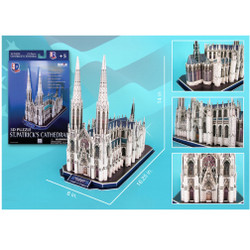 3D St. Patrick's Cathedral Puzzle