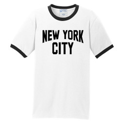 New York City Ringer T-Shirt Made famous by John Lennon