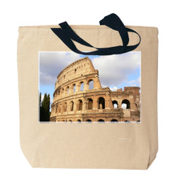 Rome's Coliseum Canvas Tote Bag