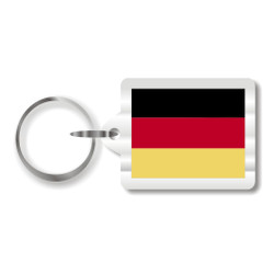 German Flag Key Chain