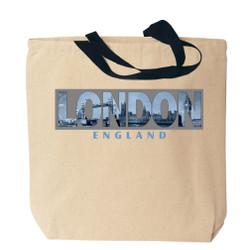 London Canvas Tote Bag