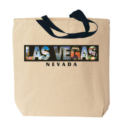 Las Vegas Canvas Tote Bag