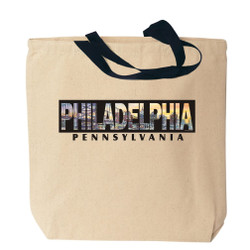 Philadelphia Canvas Tote Bag