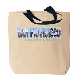 San Francisco Photo Canvas Tote Bag