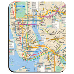MTA Subway Mousepad