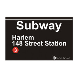 148 Stree Station Subway Harlem Magnet