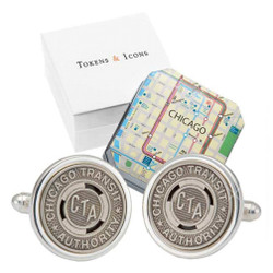 El' Token Chicago Cufflinks