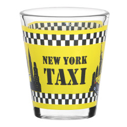 NYC Taxi Shot Glasses