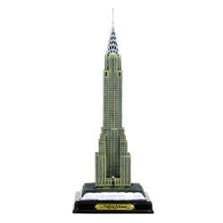 Chrysler Building w/ Wood Base