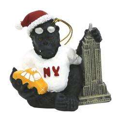 King Kong Loves NY Ornament
