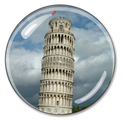 Italy's Leaning Tower of Pisa Paperweight