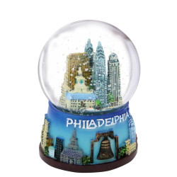 Philadelphia Snow Globe 65mm