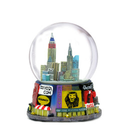 42nd Street Times Square Snow Globe